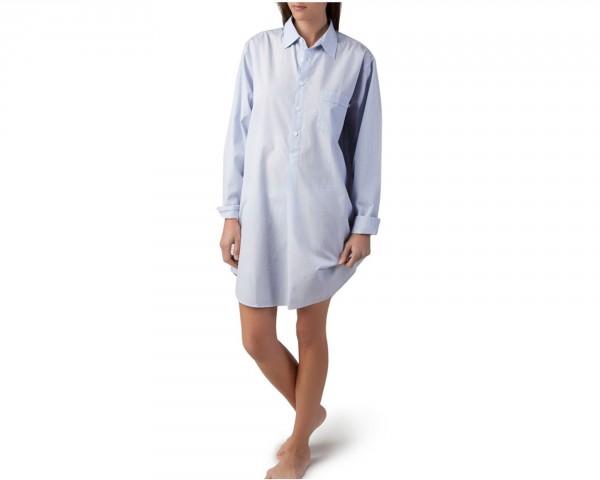 Lexington Nightshirt Stripe blau/weiß