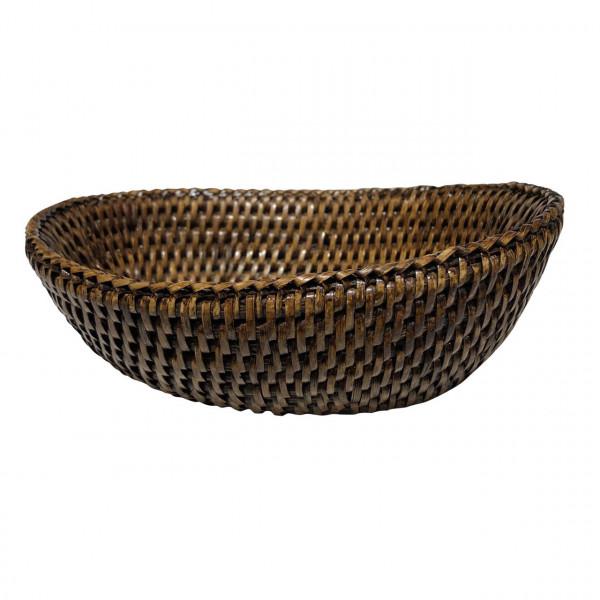Korb oval Togo braun