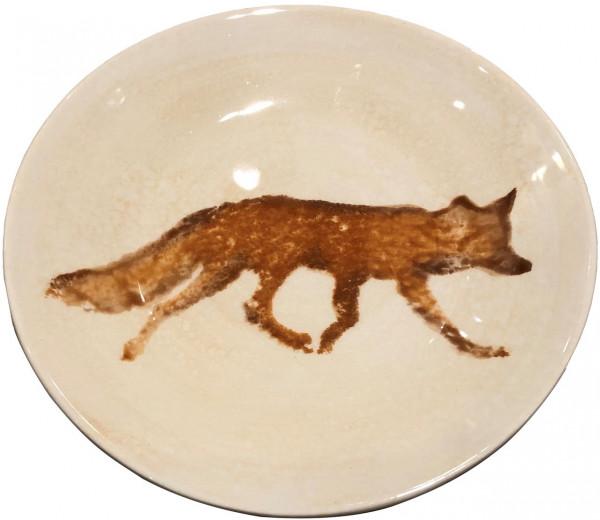Dessertteller Highlands Fuchs