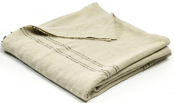 Libeco Plaid Moroccan Stripe beige/grau