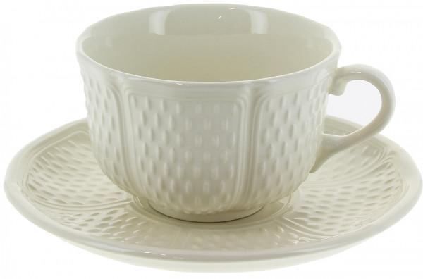 Gien Pont aux Choux Blanc Kaffee/Teetasse