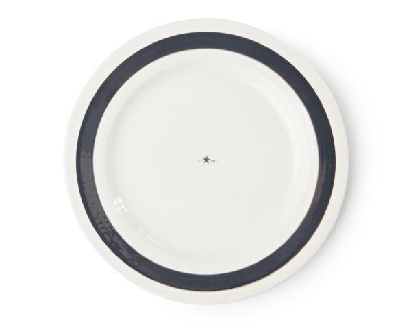 Lexington Platte Details weiß/grau