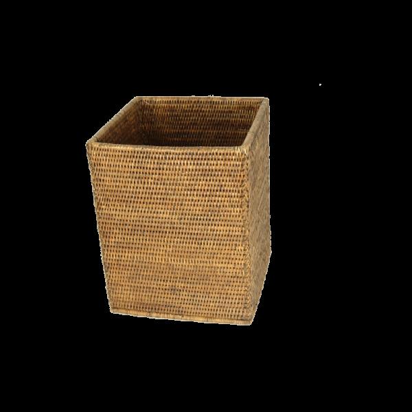 Papierkorb quadrat Togo braun