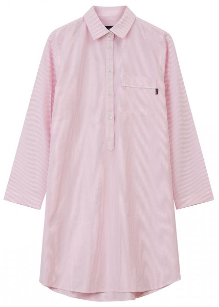 Lexington Nightshirt Bio rosa/weiß