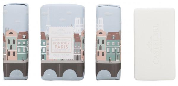 Castelbel Duftseife Hello Cities Paris Jasmin