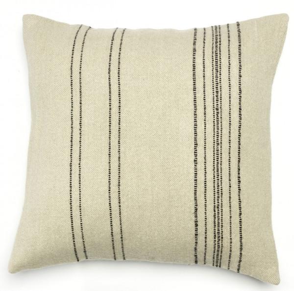 Libeco Kissenbezug Moroccan Stripe beige/grau