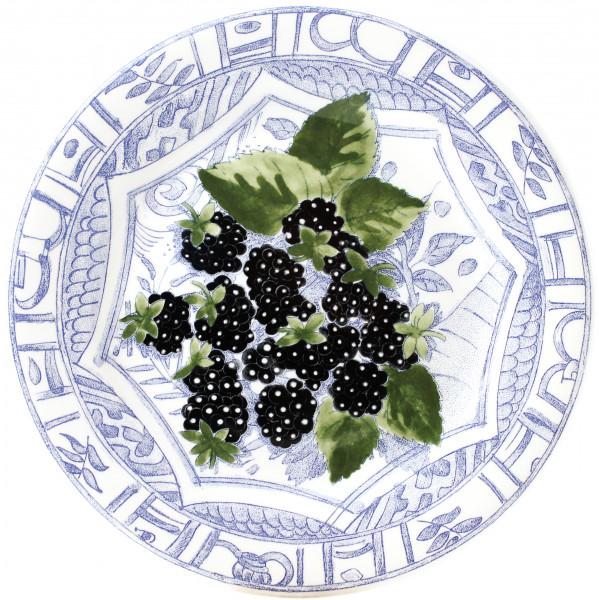 Gien Oiseau Bleu Fruits Dessertteller 4er-Set