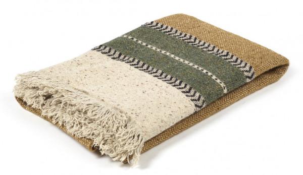 Libeco Plaid Montana camel/grün/beige