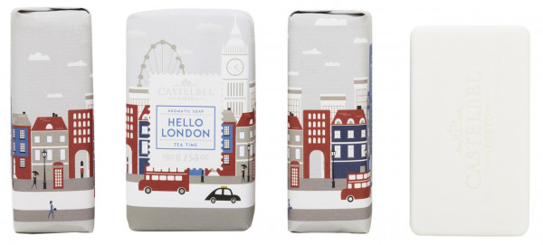Castelbel Duftseife Hello Cities London Tea Time