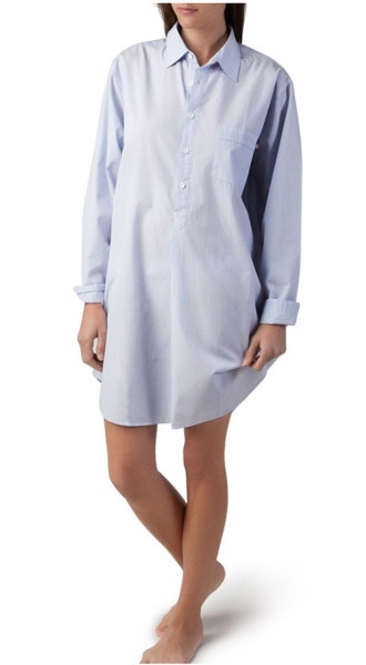 Lexington Nightshirt Stripe blau/weiß