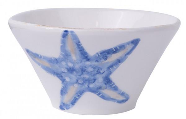 Flamant Schale Mare Seestern blau