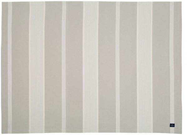 Lexington Tischdecke Streifen beige/weiß