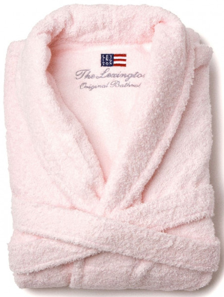 Lexington Bademantel Original rosa