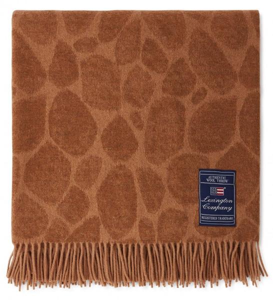 Lexington Decke Giraffe Wool