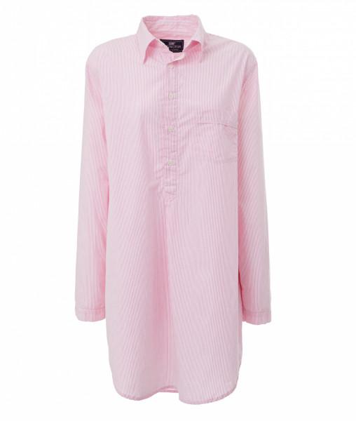 Lexington Nightshirt Stripe rosa/weiß