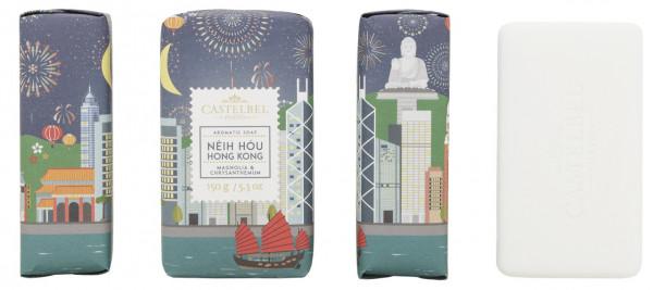 Castelbel Duftseife Hello Cities Hong Kong Magnolien Chrysanthemen