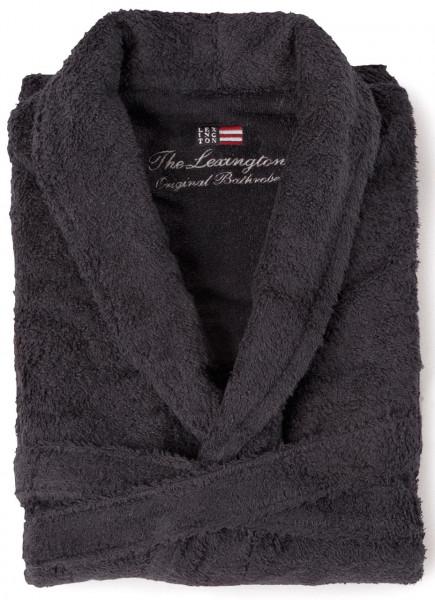 Lexington Bademantel Original anthrazit