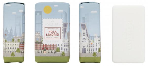 Castelbel Duftseife Hello Cities Madrid Veilchen