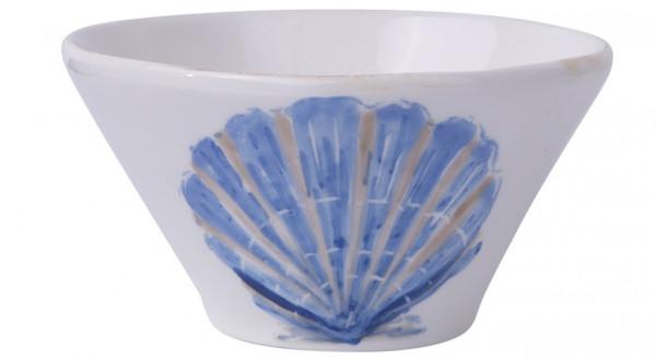 Flamant Schale Mare Muschel blau